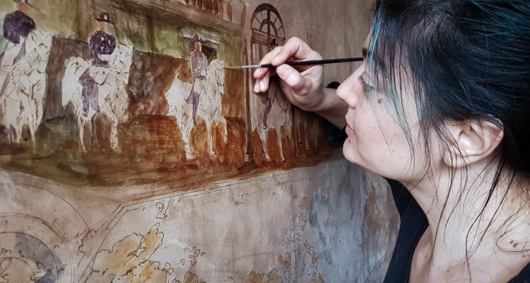Artist of the month: Vali Irina Ciobanu