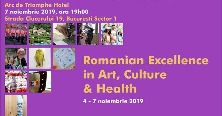 "Darius Hulea: ""Proud To Be Romanian"" Gala – 4-7 November 2019, Arc de Triomphe Hotel Bucharest"