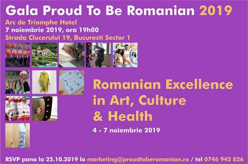 "Darius Hulea: ""Proud To Be Romanian"" Gala – 4-7 November 2019, Arc de Triomphe Hotel Bucharest"