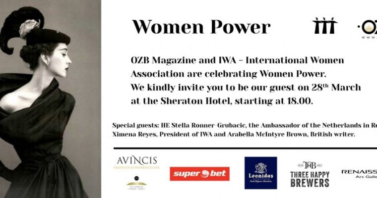 Women Power: by OZB Magazine & IWA – March 2018